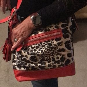 Coach Ocelot print bag